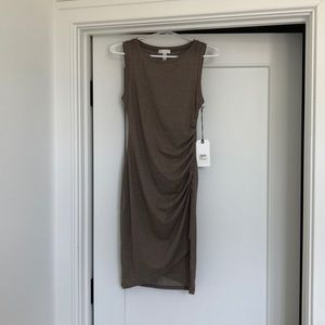 Brown/ taupe dress